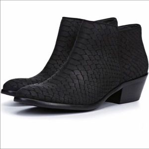 Sam Edelman Petty snakeskin Chelsea ankle boots